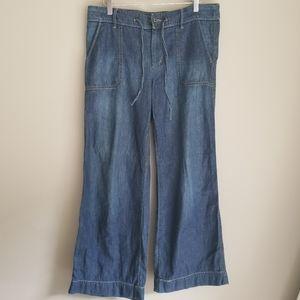 Ralph Lauren wide leg denim